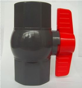 Octagonal PVC Ball Valve with Lever Operator pictures & photos