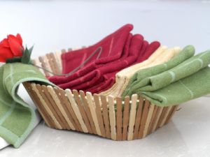 100% Polyester Towel for Kitchen