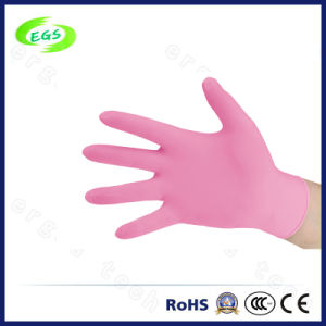 Powder Free Disposable Nitrile Gloves pictures & photos