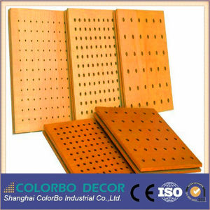 Natural Wood Veneer Wooden Timber Wood Acoustic Panel pictures & photos