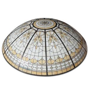 Round Shape Custom House Roof Tiffany Stained Glass Lamps Dome Structure pictures & photos