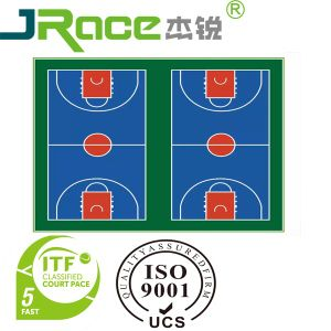 Multi-Use Outdoor and Indoor Plastic Sports Flooring Surface pictures & photos