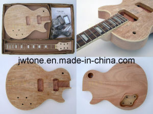 Quality Spalted Maple Top Unfinished Lp Electric Guitar pictures & photos