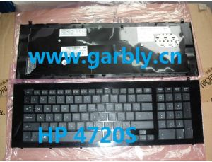 laptop keyboard for hp PROBOOK 4720S US BLACK FRAME BLACK pictures & photos