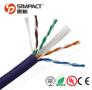 UL/Ce/RoHS/ISO Solid Bare Copper UTP CAT6 pictures & photos