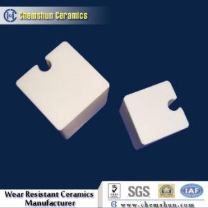 Alumina Ceramic Block Vulcanized in Rubber Ceramic Liner pictures & photos