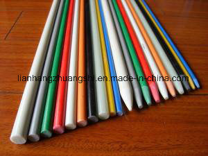 Pultruded Colourful Solid High Strength Durable Fiberglass Rod /Pole pictures & photos