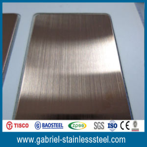 Color 4X8 304 201 Stainless Steel Sheet Metal pictures & photos