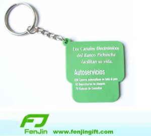 Soft PVC Key Chain, Rubber Keychain, Promotional Key Chain