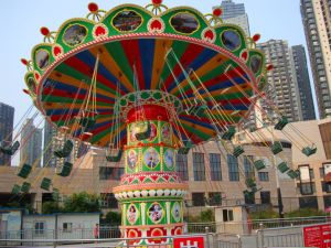 Factory Direct Fute Amusement Customized Flying Chair pictures & photos