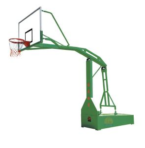 Outdoor Exercise Station-Oblique Lmitated Hydraulic Basketball Stand (JM-1005) pictures & photos