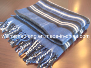 100%Australian Merino Virgin Wool Blanket Throw pictures & photos