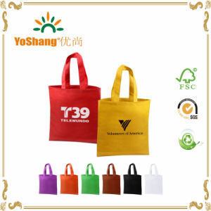 Promotional Custom Reusable Non Woven Bags with Logo Printing pictures & photos