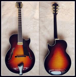 Half Handmade Jazz Guitar (YZ-10S)