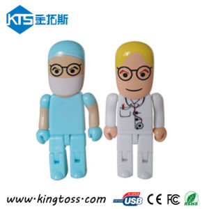 Plastic Hospital Gift Doctor USB Flash Drive