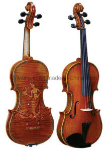 Selected Flamed Violin (LCV007-2)