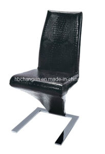 Modern Classical Black Leather Dining Chair pictures & photos