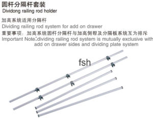Dividing Railing Set of Add on System (HS400.401)