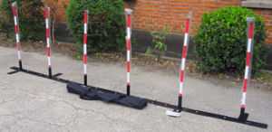 Weave Pole for Dog Agility Training Adjustable (GW-DT10) pictures & photos
