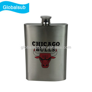 Customized Sublimation Stainless Steel Flasks Wine Pot with DIY Logo