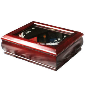 High Piano Glossy Wooden Box with Organic Glass Window (HYW018) pictures & photos
