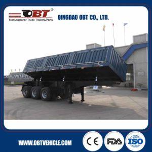 3 Axle 50 Ton Dump Truck Semi Trailer pictures & photos
