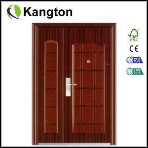 Double Swing Stainless Security Door (security door) pictures & photos