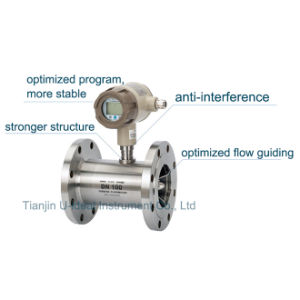 Gas Tubine Flow Sensor, Water Intelligent Flowmeter pictures & photos