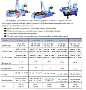 Power Tong, Casing Tong (CDXQ) pictures & photos