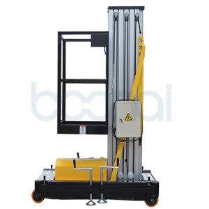 Single Mast Aerial Work Platform Max Height of Platform (6m) pictures & photos