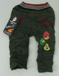 New Fashion Child Pants Cartoon Birds