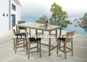 Rattan Furniture - Bar Chair and Table (BG-N010A) pictures & photos