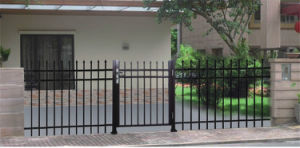 Aluminum Black Fence Gate for Residential Used pictures & photos