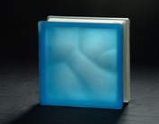 145*145*80mm Acid Blue Cloudy Glass Block pictures & photos