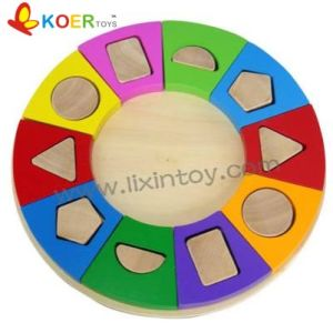 Wooden Toys - Shape Puzzle (LX718)