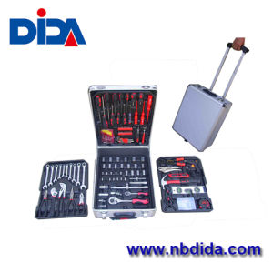 186PC Power Tools/Auto Tools With Rolling Case (DD716)