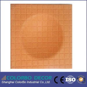 Polyester Fiber Material Indoor Wall Decorative Acoustic Panel pictures & photos