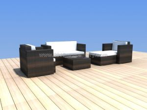 Outdoor / Garden / Patio / Rattan Sofa (NC6097) pictures & photos