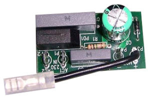 Wave Solder Process for Single Side PCB Assembly