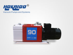 Dual Stage Oil Rotary Spring-Free Vane Vacuum Pump (2RH090C) pictures & photos