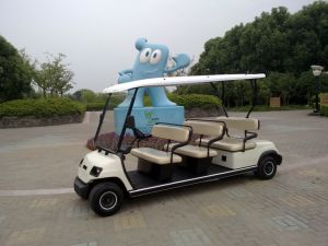 Battery Operated 8 Person Golf Car pictures & photos