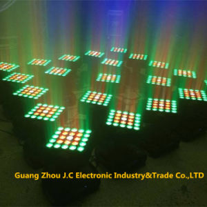 25PCS 10W CREE 4in1 LED Matrix Moving Head Light pictures & photos