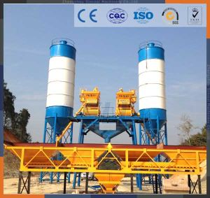 Electric Portable Concrete Mixer Batching Plant Price pictures & photos