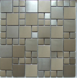 Stainless Steel Metal Mosaic Tile (SM267) pictures & photos