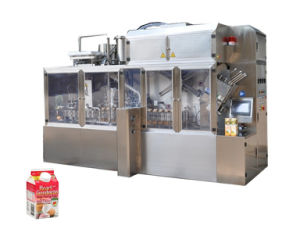 Egg Whites Gable Top Carton Packaging Machine Nimco Style pictures & photos