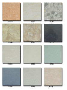 Plastic Floor Tile Dry Backing pictures & photos