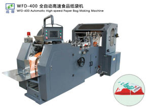 High Speed Food Paper Bag Making Machine Wfd-400 pictures & photos