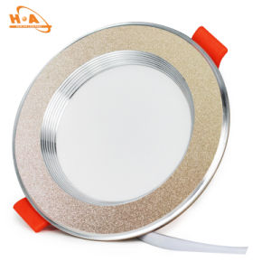 New Good Design Slivery LED 220V COB Downlight for Bedroom pictures & photos