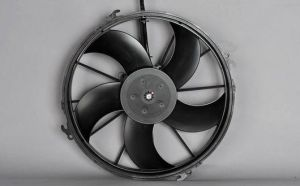 Brushless Engine-Cooling Fan