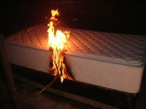 Us Standard CFR1633 Fire Retardant Mattress pictures & photos